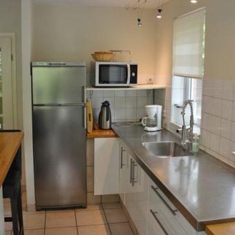 Keuken voorzien van alle gemakken